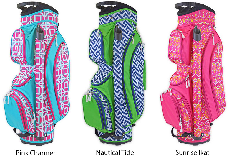 New Las Golf Bags By All For Color Pink Tees