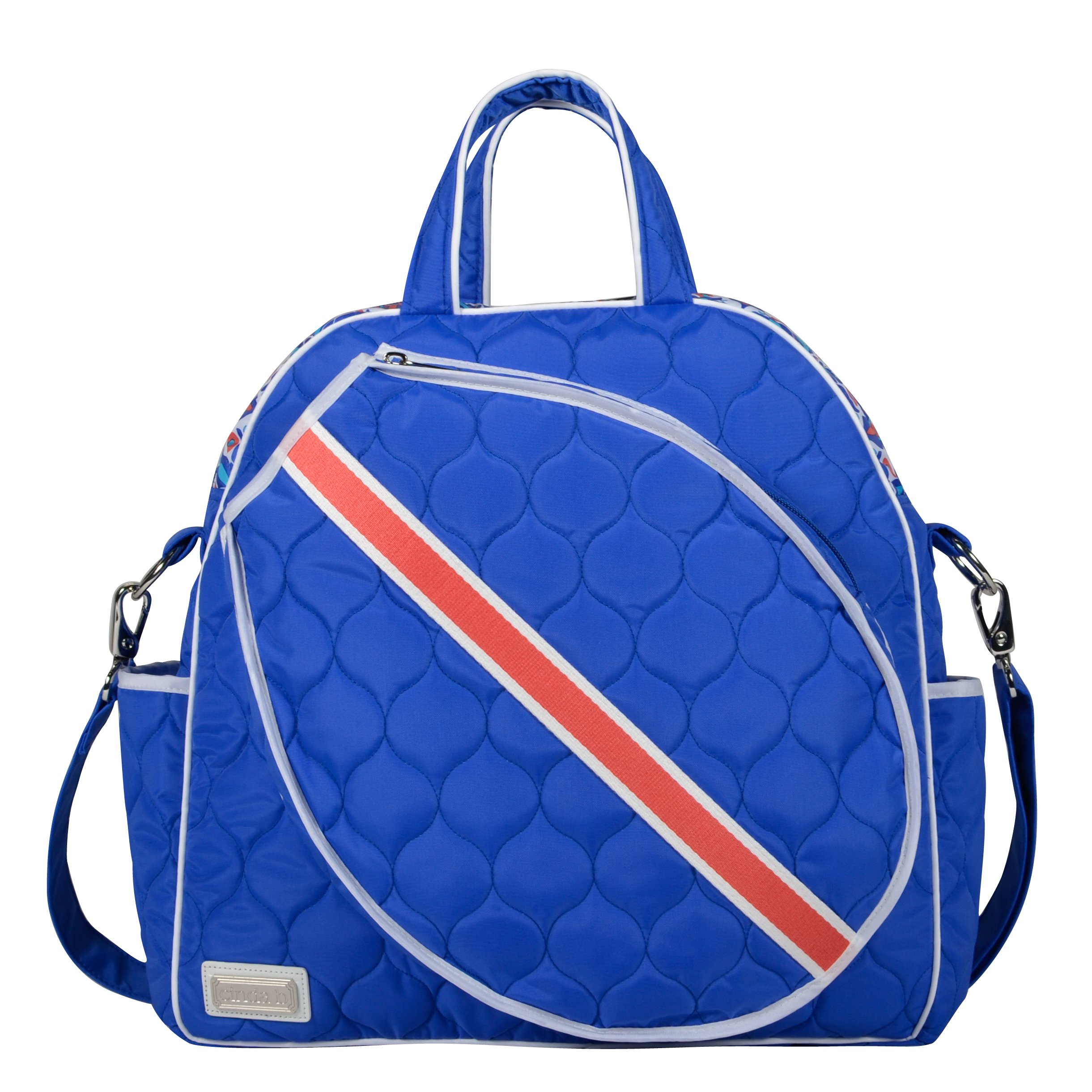 The Dourable Fabric Used Is Water Resistant Stain And Machine Washable These Eye Catching Tennis Bags For Women Are Also Made In Usa
