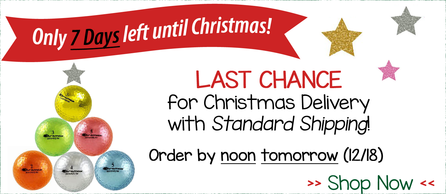 Last Chance For Christmas.Last Chance For Christmas Shipping Pink Golf Tees